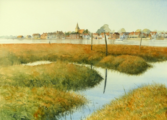 'Bosham Afternoon' 29 x 39 cm