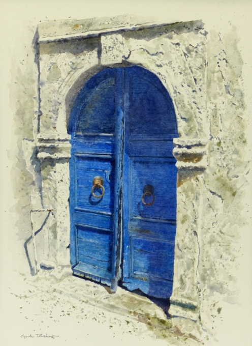 'Essaouira Afternoon' 40 x 29 cm